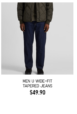 BODY2 PDP4 - MEN U WIDE-FIT TAPERED JEANS