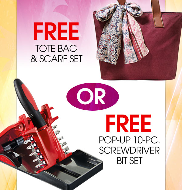 Choose a FREE GIFT with orders of $25 or more!