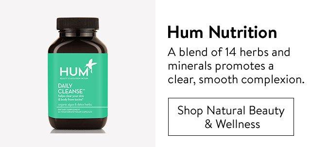 Hum Nutrition supplements.