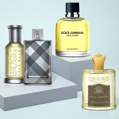 Fragrance for Him ft. BOSS, Creed & More
