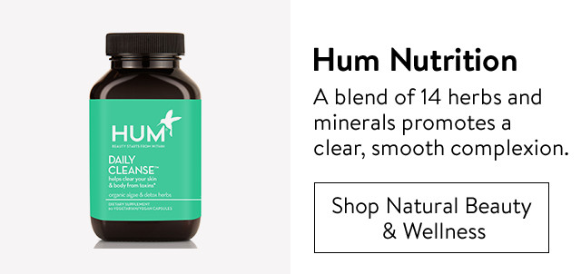 Hum Nutrition supplements.