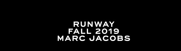 Runway Fall Marc Jacobs