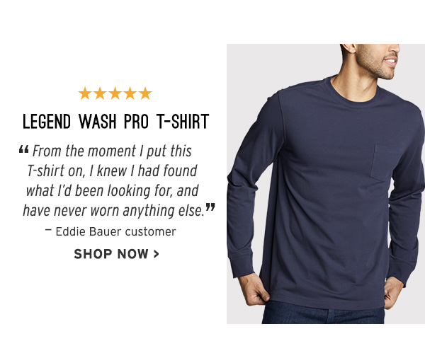 LEGEND WASH PRO TSHIRT