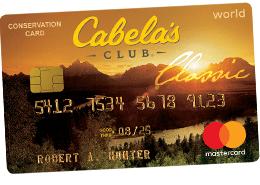 Cabela's CLUB Mastercard
