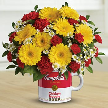 Campbell's Healthy Wishes Bouquet by Teleflora