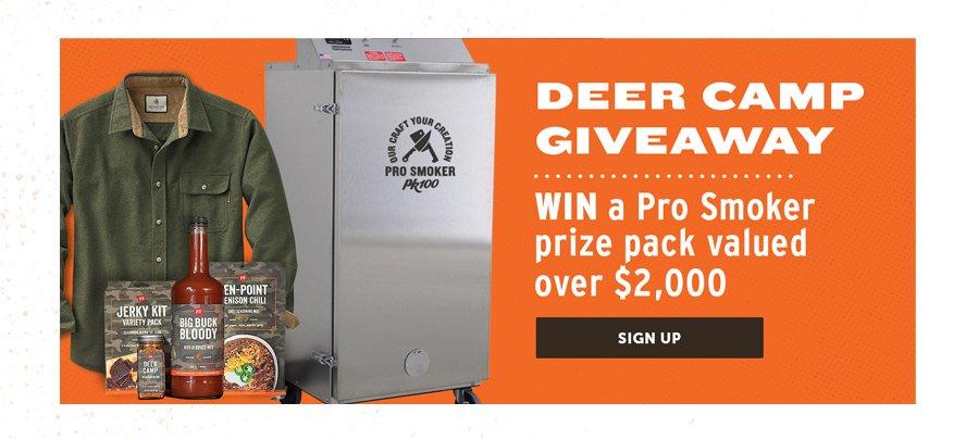 Deer Camp Giveaway