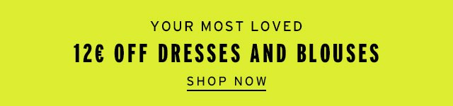 Your Most Loved 12€ Off Dresses And Blouses - Shop Now