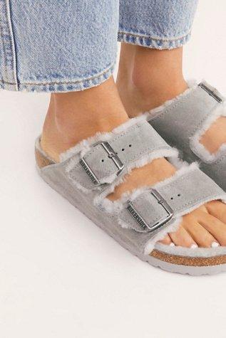 Arizona Shearling Birkenstock Sandal