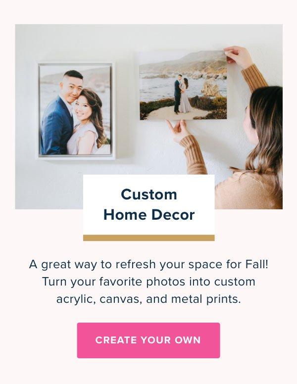Custom Home Decor