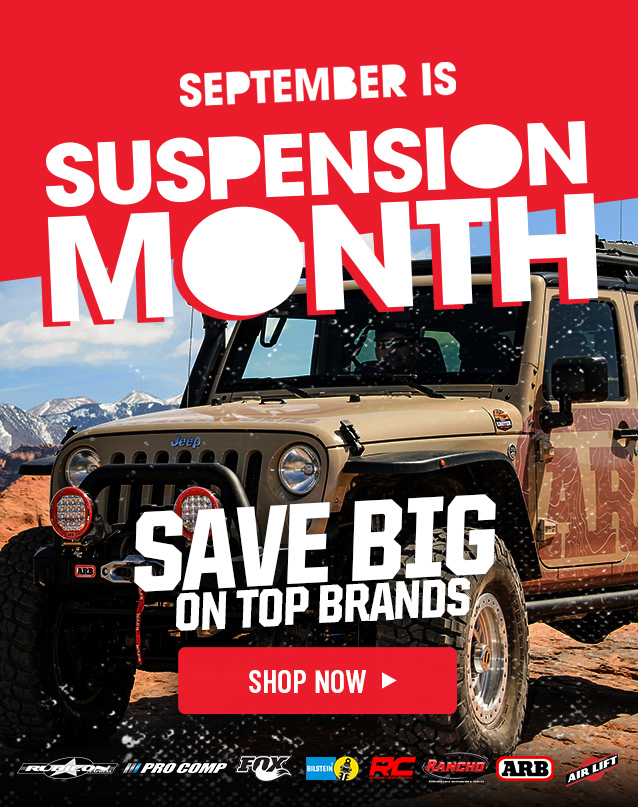 Tires Best Wheels And Tires For Jeeps Trucks 4wp 4 Wheel Parts >> 4 Wheel Parts September Is Suspension Month At 4wp Milled