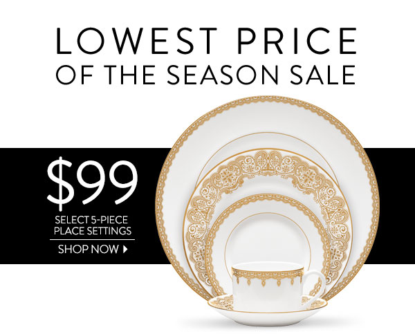 $99 Select 5-Piece Place Settings