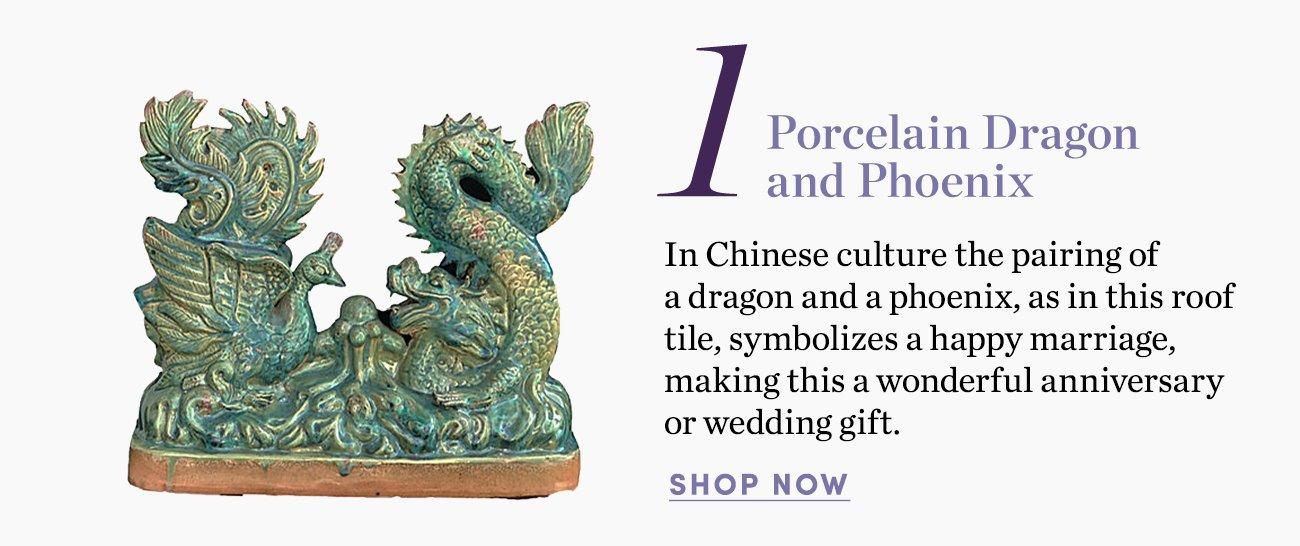 1. Porcelain Dragon and Phoenix
