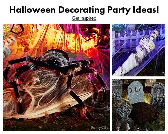 Halloween Decorating Party Ideas! Get Inspired