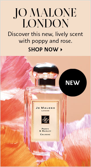 New Jo Malone Poppy and Barley Fragrance