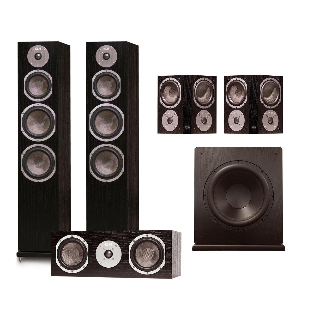 KLH Kendall 5.1 Speaker System (Black Oak)