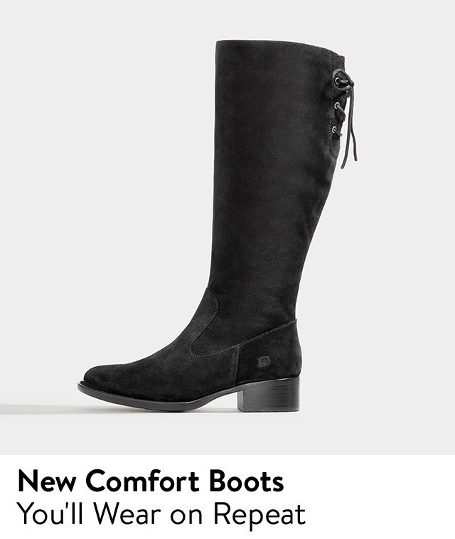 New comfort boots for women.