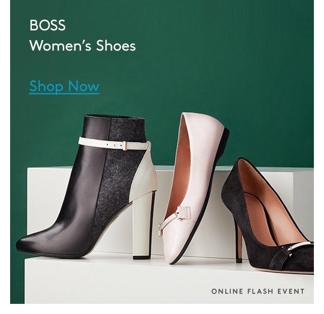 BOSS | Women's Shoes | Shop Now | Online Flash Event