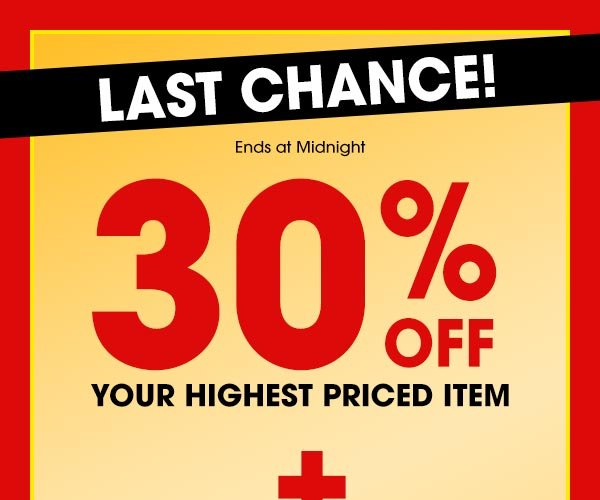 Get 30% OFF Your Highest Priced Item PLUS FREE SHIPPING on orders of $29 or more! Use promo code SEPHPI at checkout.