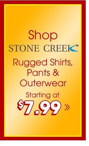 Shop Men's Stonecreek™ Collection!