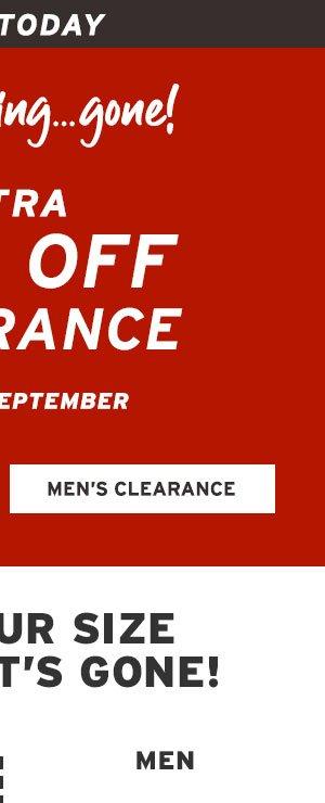 MEN CLEARANCE