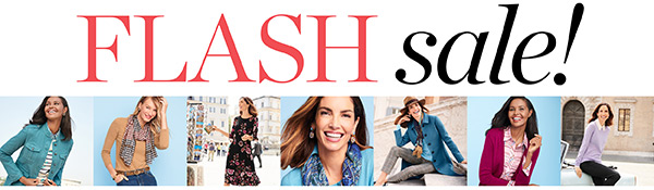 Online only - Ends at Midnight. FLASH SALE!