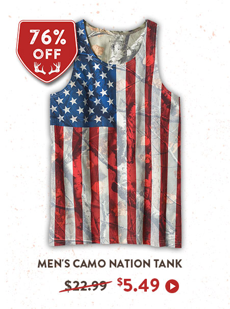 Men's Camo Nation Tank