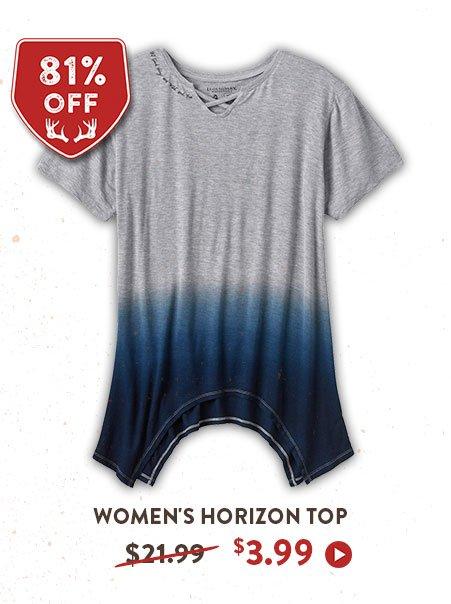 WOMEN'S HORIZON SHORT SLEEVE TOP