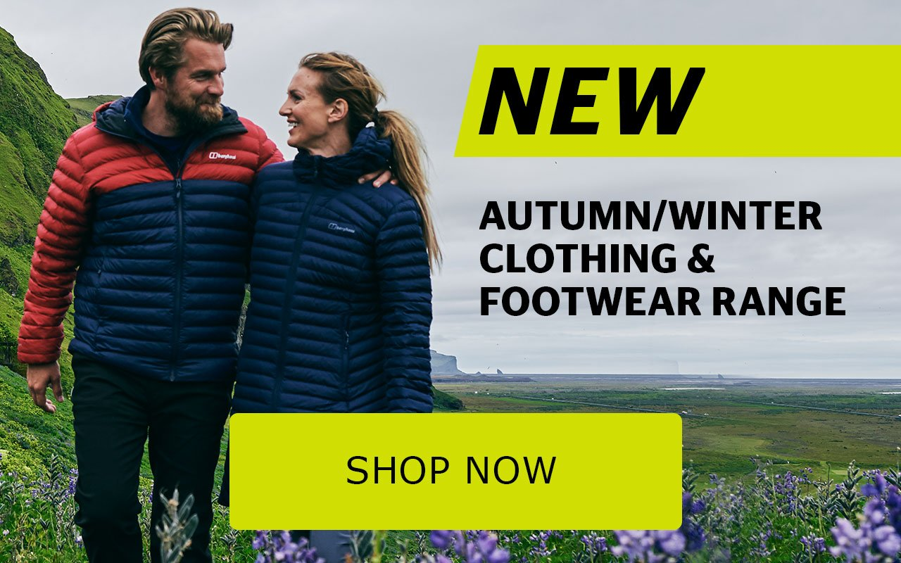 New Autumn/Winter Clithing & Footwear range