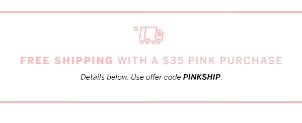 Free shipping w/ $35 purchase