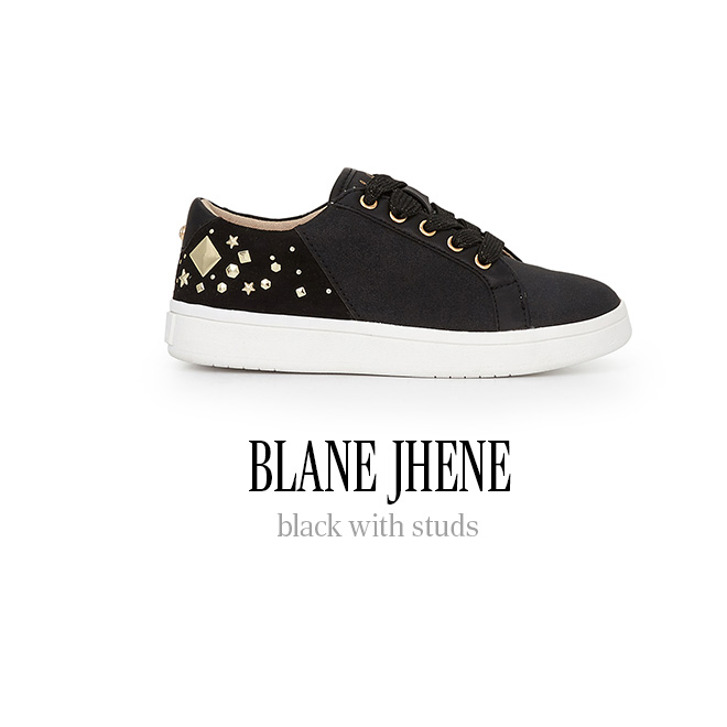 BLANE JHENE black withs studs