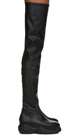 032c - Black Buffalo London Edition Over-The-Knee Boots