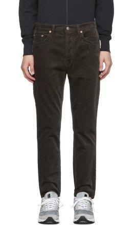 Acne Studios - Grey Corduroy River Jeans