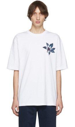 Acne Studios - White Flower Erian T-Shirt