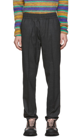 Acne Studios - Grey Wool Ryder Trousers