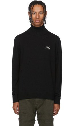 A-Cold-Wall* - Black Classic Turtleneck