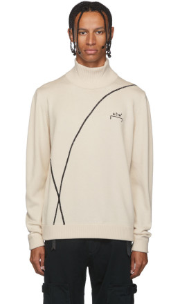 A-Cold-Wall* - Off-White Classic Turtleneck