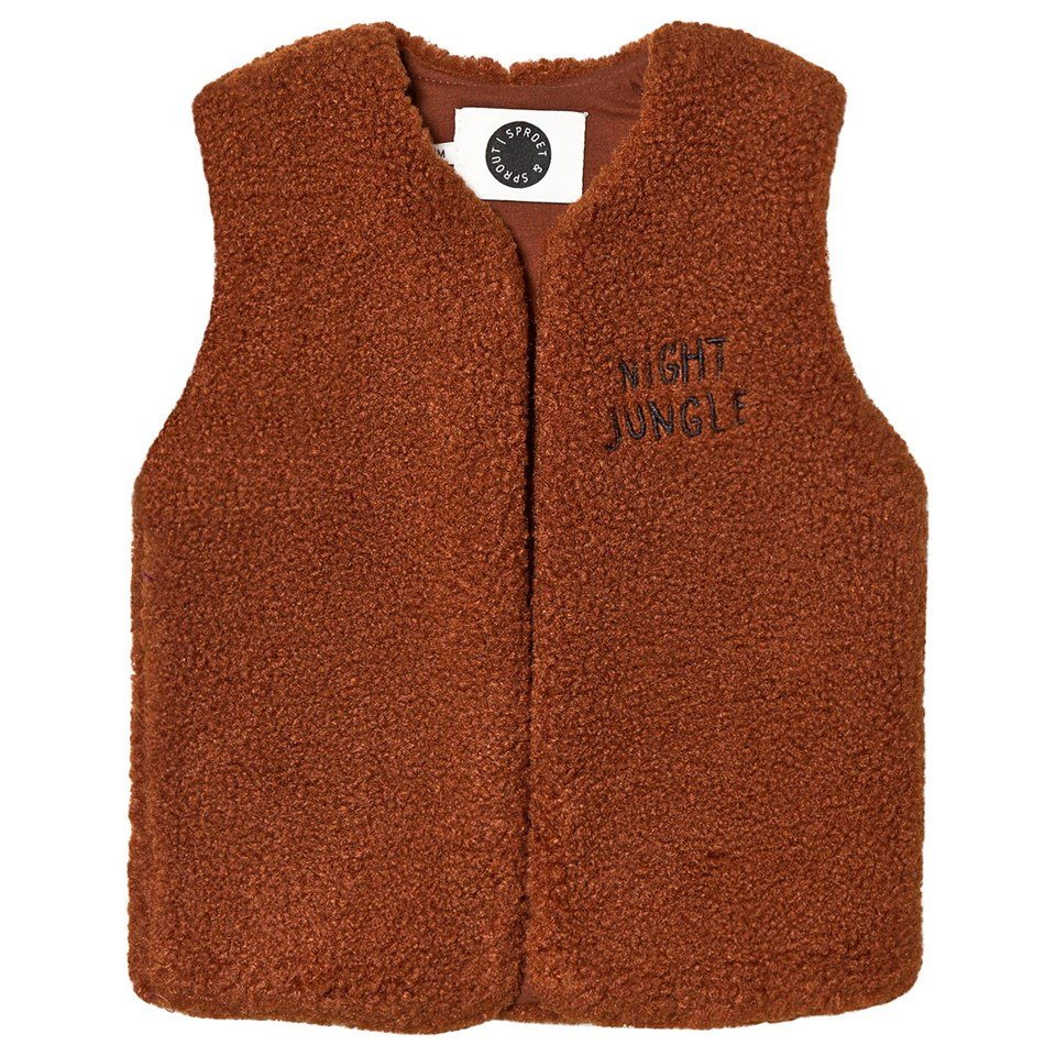 Sproet and Sprout Brown ´Night Jungle´ Gilet