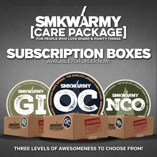Get an SMKWarmy Care Package! Three levels to choose from!