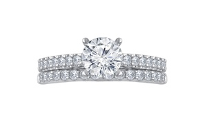 2 1/4 CTTW Classic Diamond Bridal Set in 14K Gold by Brilliant Diamond
