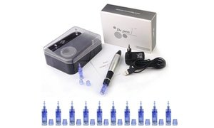 Dr. Pen A1 Derma Pen Microneedle System for Anti Aging & 10 Cartridges