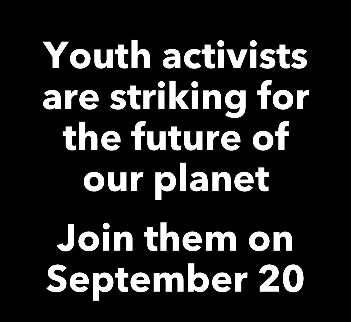 Youth activists are striking for the future of our planet. Join them.