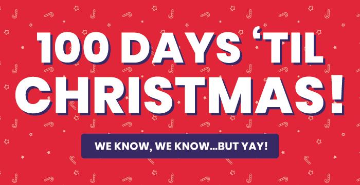 Days Till Christmas Uk.Iwantoneofthose Com Uk 100 Days Til Christmas Bag An