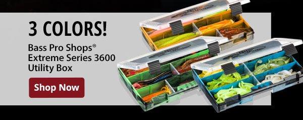 Bass Pro Shops Extreme Series 3600 Utility Box
