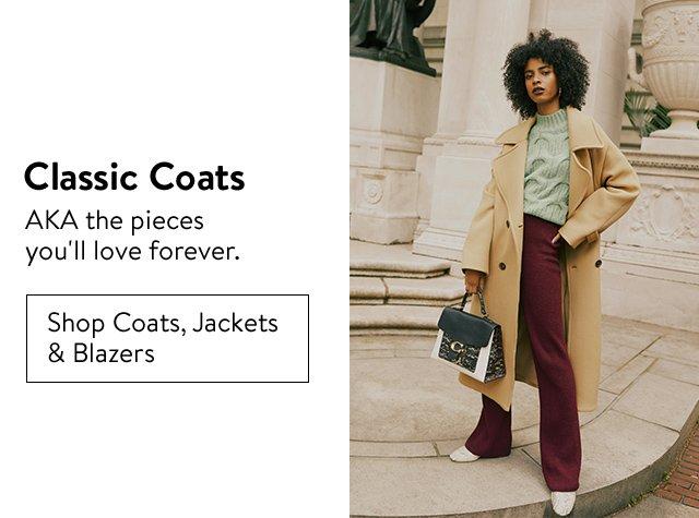 Fall's top trends: classic coats.
