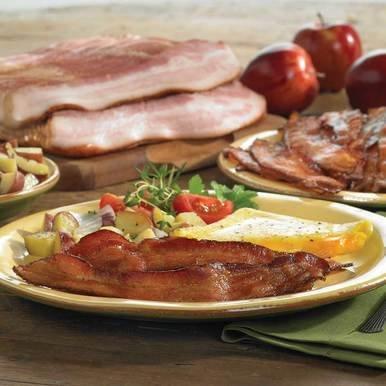 Image of Nueske Medium-Thick Sliced Applewood Smoked Bacon