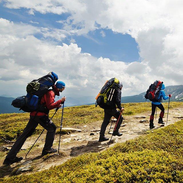Hill walking checklist