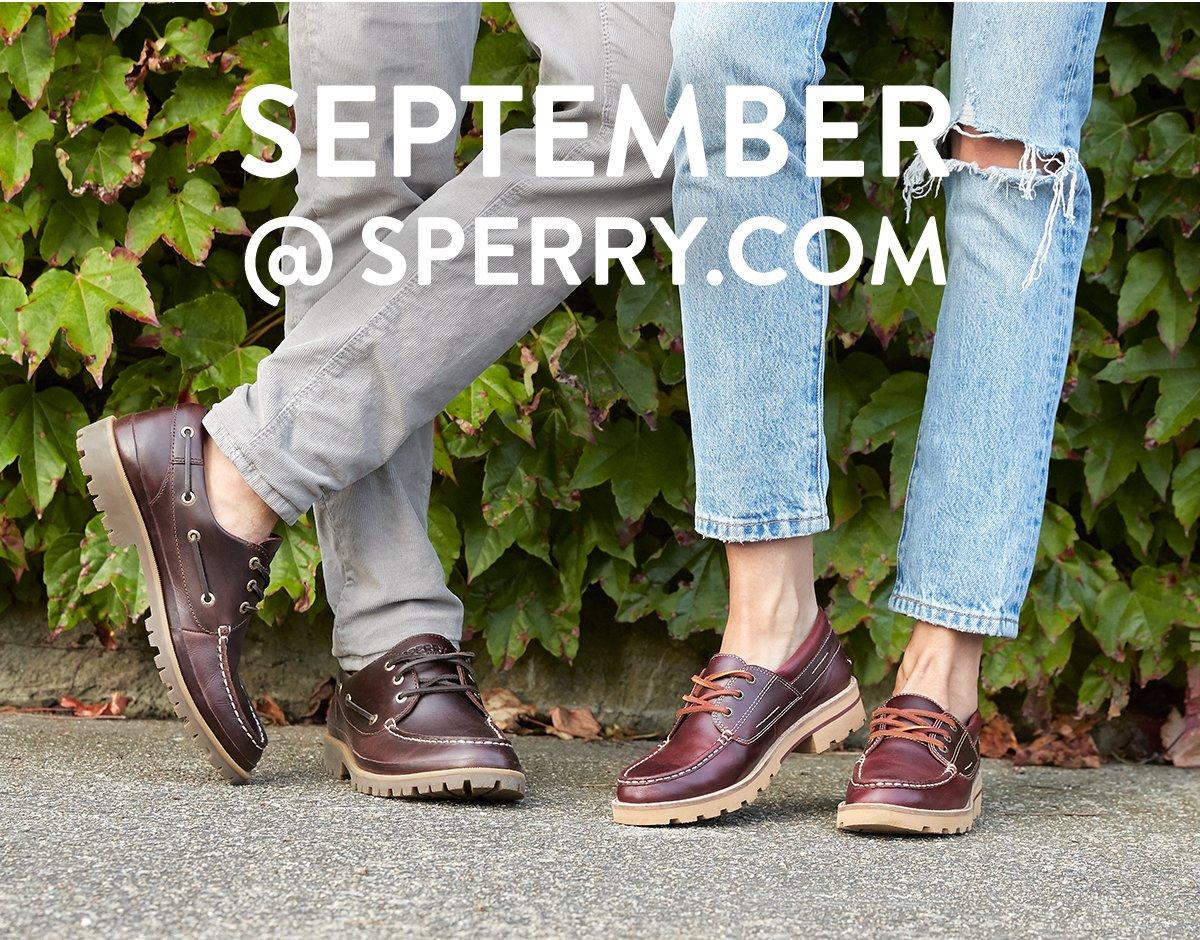 September at Sperry.com