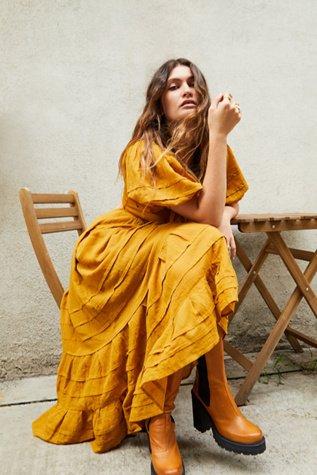Lets Be Friends Midi Dress