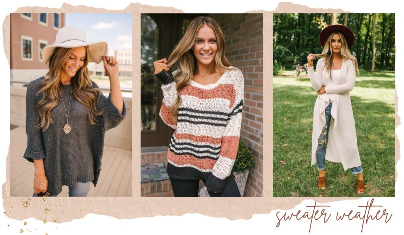 charcoal sweater striped sweater cream duster