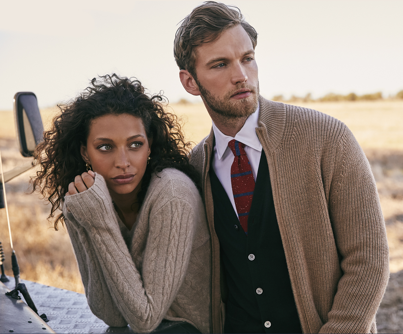 Wardrobe Essentials: Refined Sweaters - Add a layer of luxurious warmth with our sweaters for him and her.